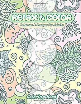 Relax Color Patterns Designs For Adults Coloring Book Beautiful Adult Books Volume 7