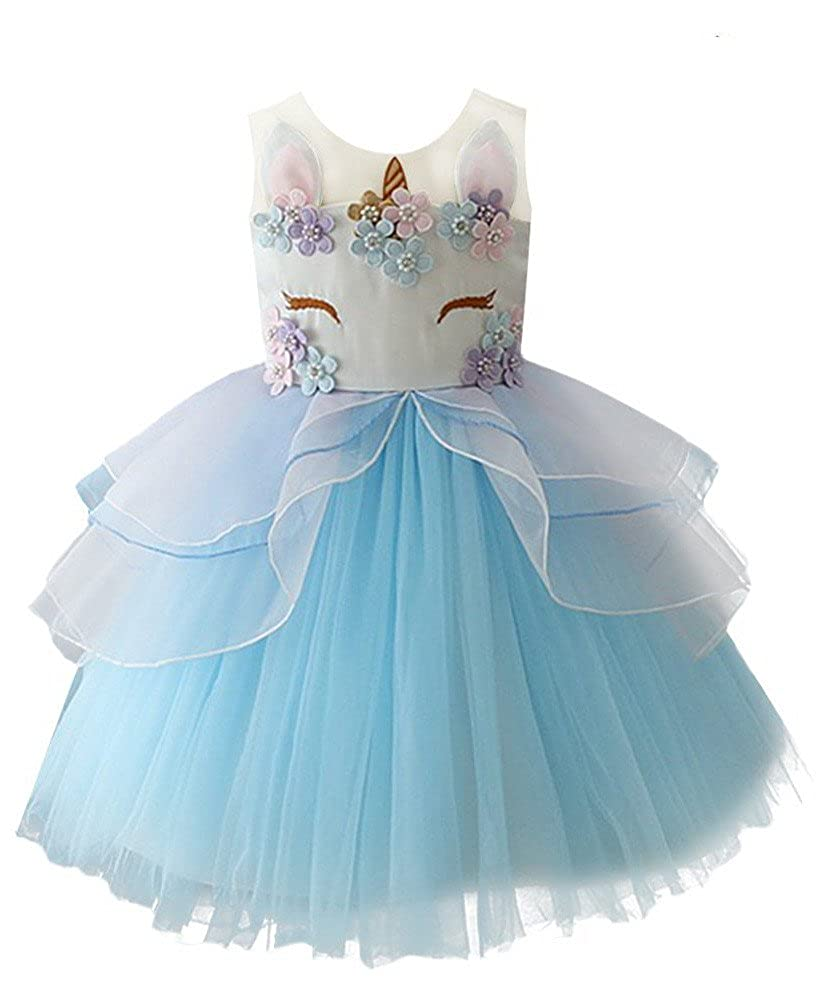 WEONEDREAM Baby Little Big Girl Dress with Embroidery weonedream18011101