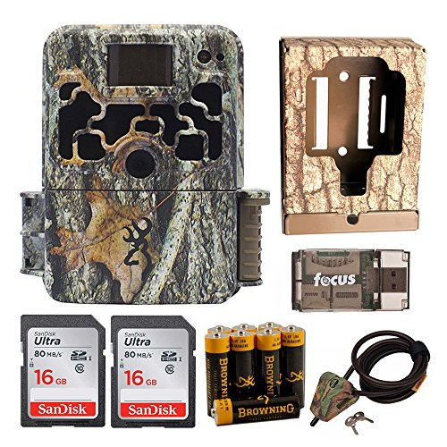 Browning Dark OPS HD 940 Micro Trail Game Camera (16MP) Box + Cable + 2 16Gb Cards + Focus Reader + Batteries