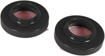 Prothane 6-1701-BL Black Upper and Lower Spring Isolator