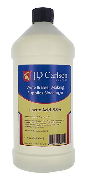 Wine And Beer Making Lactic Acid 88% 32oz