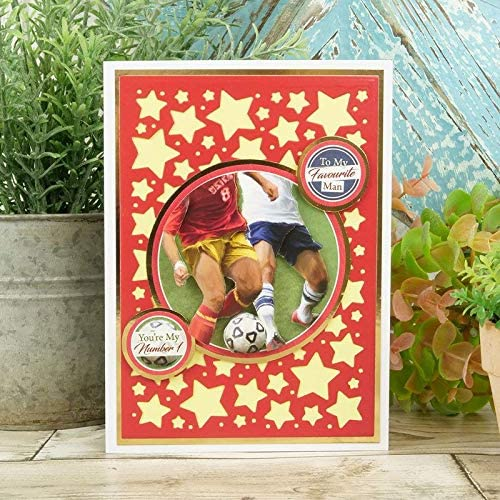 Hunkydory Crafts Manly Moments Decoupage Book