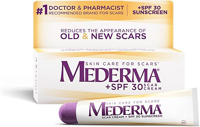 Amazon Com Mederma Scar Cream Plus Spf 30 20 G Health