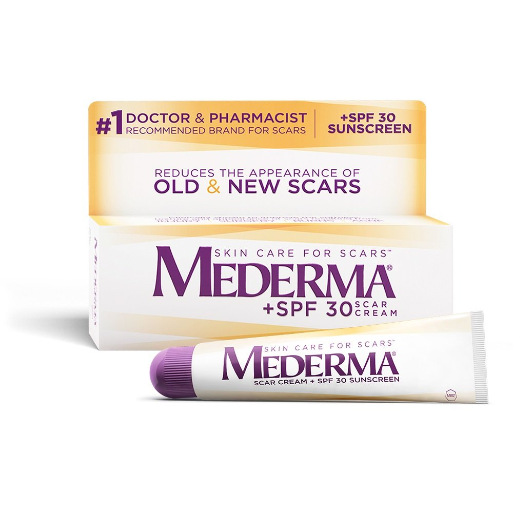 Mederma Scar Cream Plus Spf 30 Reduces The Appearance Of Old New Scars Wh Ebay