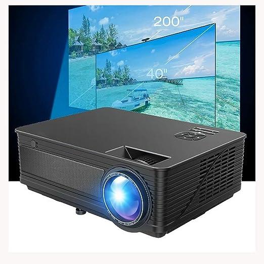 AI LIFE Proyector LED HD de 9000 lúmenes Video proyector Proyector ...
