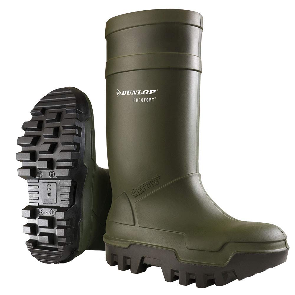 Dunlop C662933 Purofort Thermo + Full Safety Wellington/Mens Boots/Safety Wellingtons