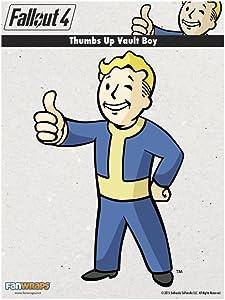 FanWraps Fallout 4 Thumbs-Up Vault Boy Mini PVC Decal