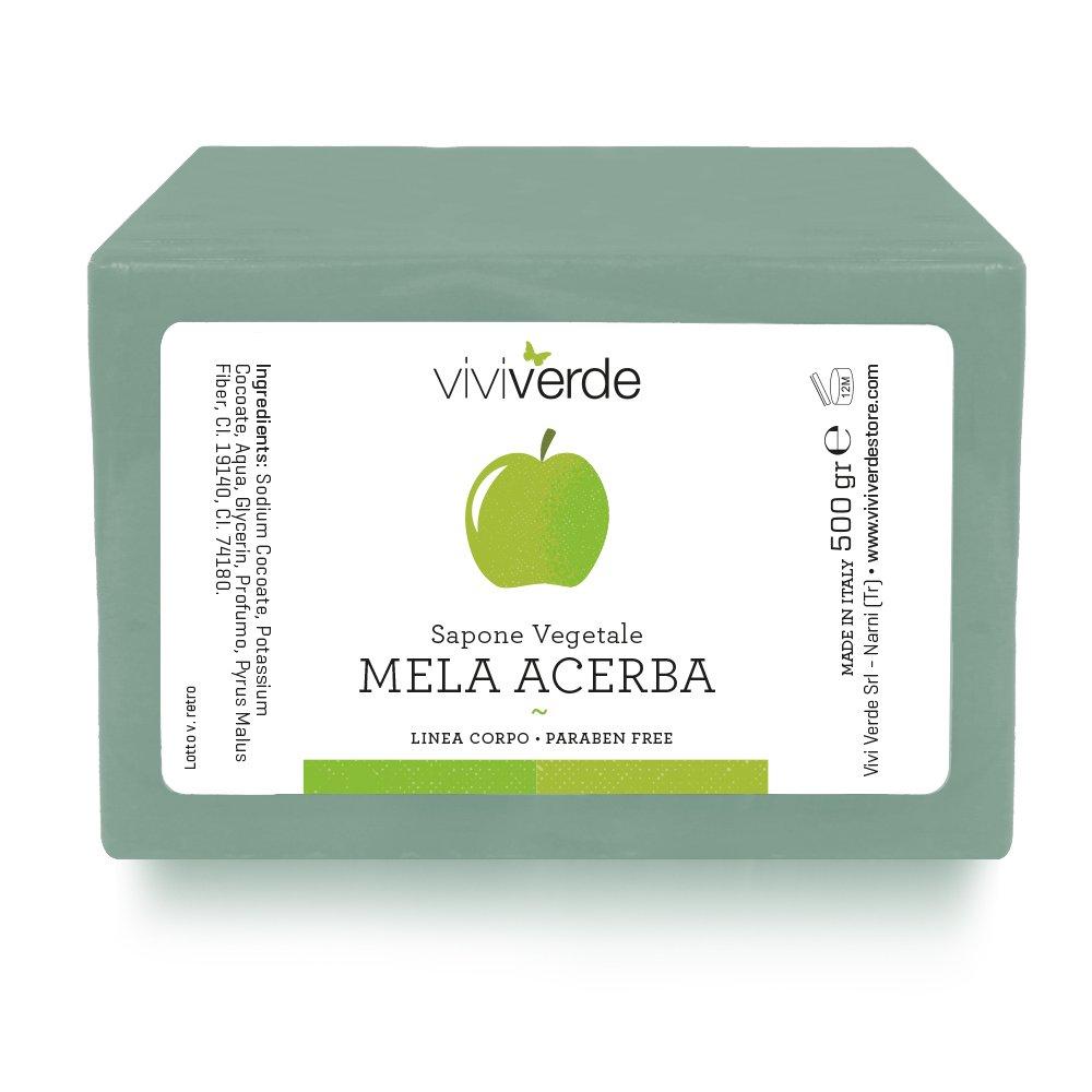 Viviverde Vegetable Soap, Apple Acerba - 500 g