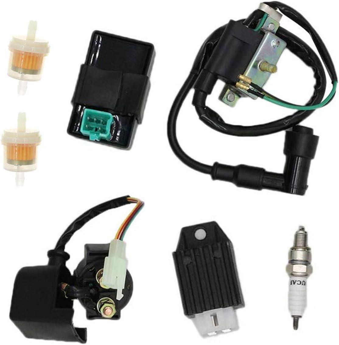 Ignition Coil AC CDI Box 50cc 70cc 90cc 110cc 125cc TATV Go Kart Taotao Coolster