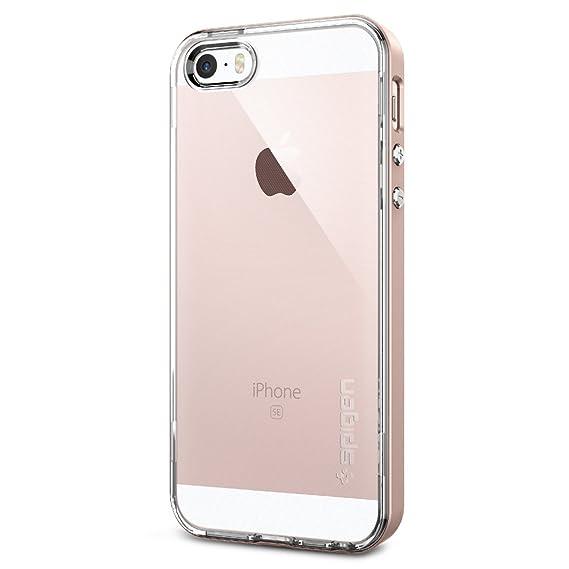 Amazon.com: Spigen Neo Hybrid Crystal iPhone SE Case with Flexible ...