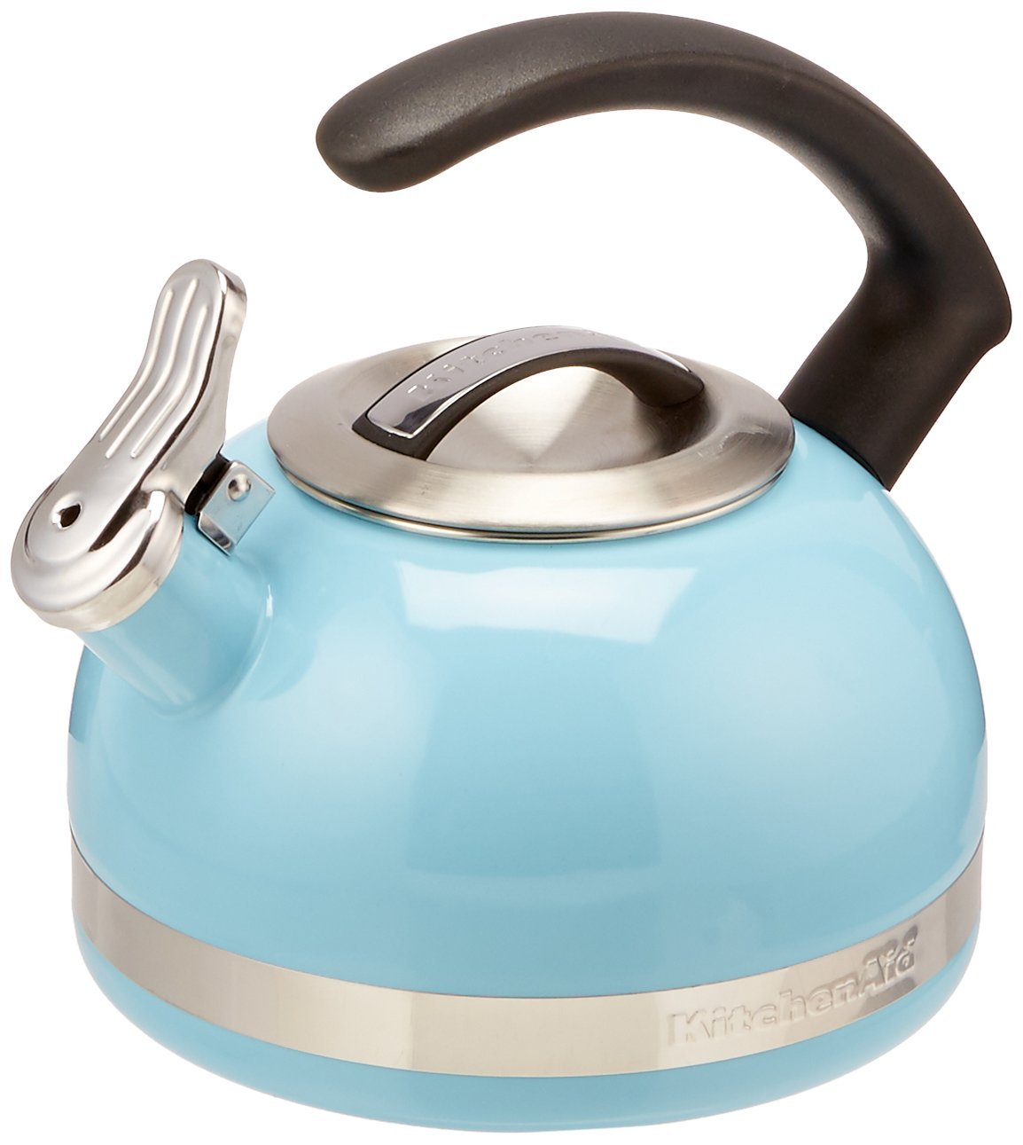 KitchenAid KTEN20CBEU 2.0-Quart Kettle with C Handle and Trim Band - Cameo Blue