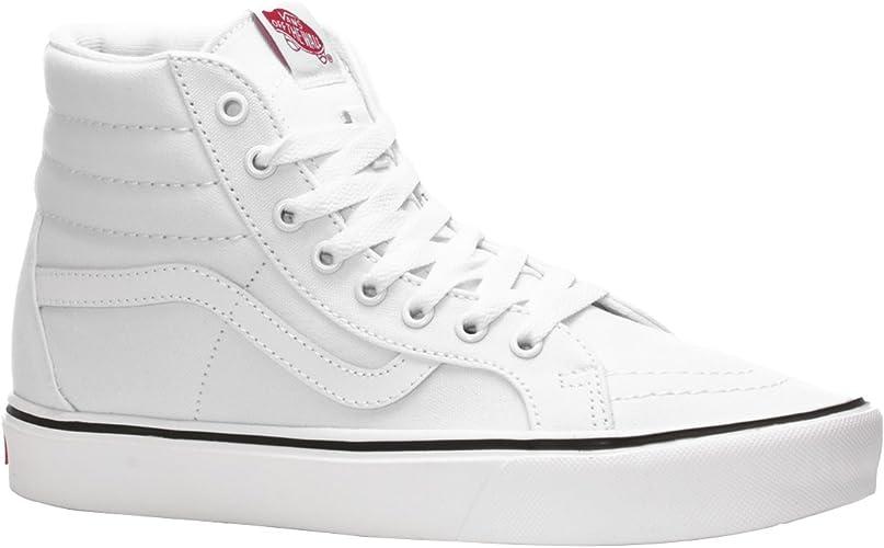 Vans Sk8 Hi lite Sneaker Canvas Lightweight White