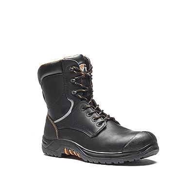 V12 Avenger, Botas de Seguridad Adultos Unisex, Black (Black Waxy), 46 EU: Amazon.es: Zapatos y complementos