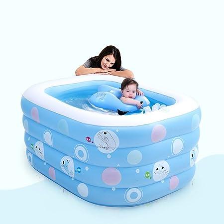 Bañera hinchable, portátil Mini Air Piscina infantil niño niño ...