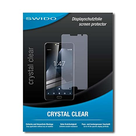 2 x SWIDO® Protector de pantalla Vodafone Smart Ultra 7 Protectores de pantalla de película