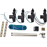 outgeek power door lock actuator kit 2 wires & 5 wires auto locking system  motor