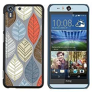 Stuss Case / Funda Carcasa protectora - Blau - HTC Desire Eye ( M910x )