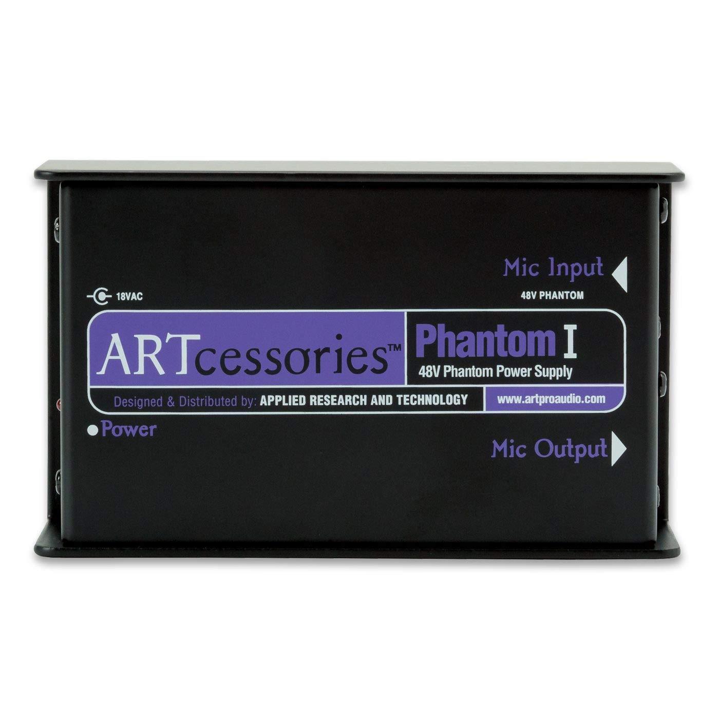 ART Phantom I 48V Phantom Microphone Power Supply by ART