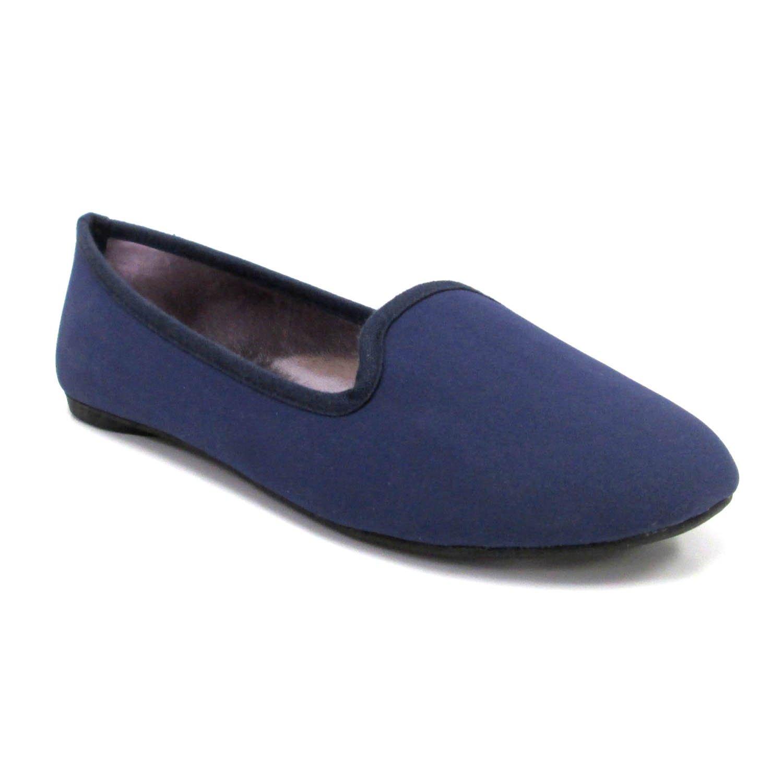 Olivia Miller Women's 'Angie' Basic w/Metallic Sock Smoking Shoes