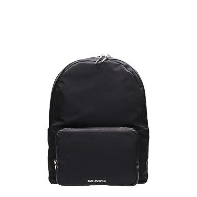 9290d05075d Karl Lagerfeld 77KW3035 Backpack Woman Black TU  Amazon.co.uk  Clothing