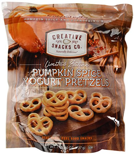 Creative Snacks Pumpkin Spice Yogurt Pretzels (1lb,10 Oz)