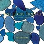 Sea Glass Hearts 2014 Wall Calendar