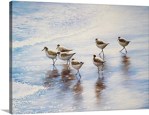 ブルース・Nawrockeプレミアムシックラップキャンバス壁アート印刷題名砂ダンサー 40