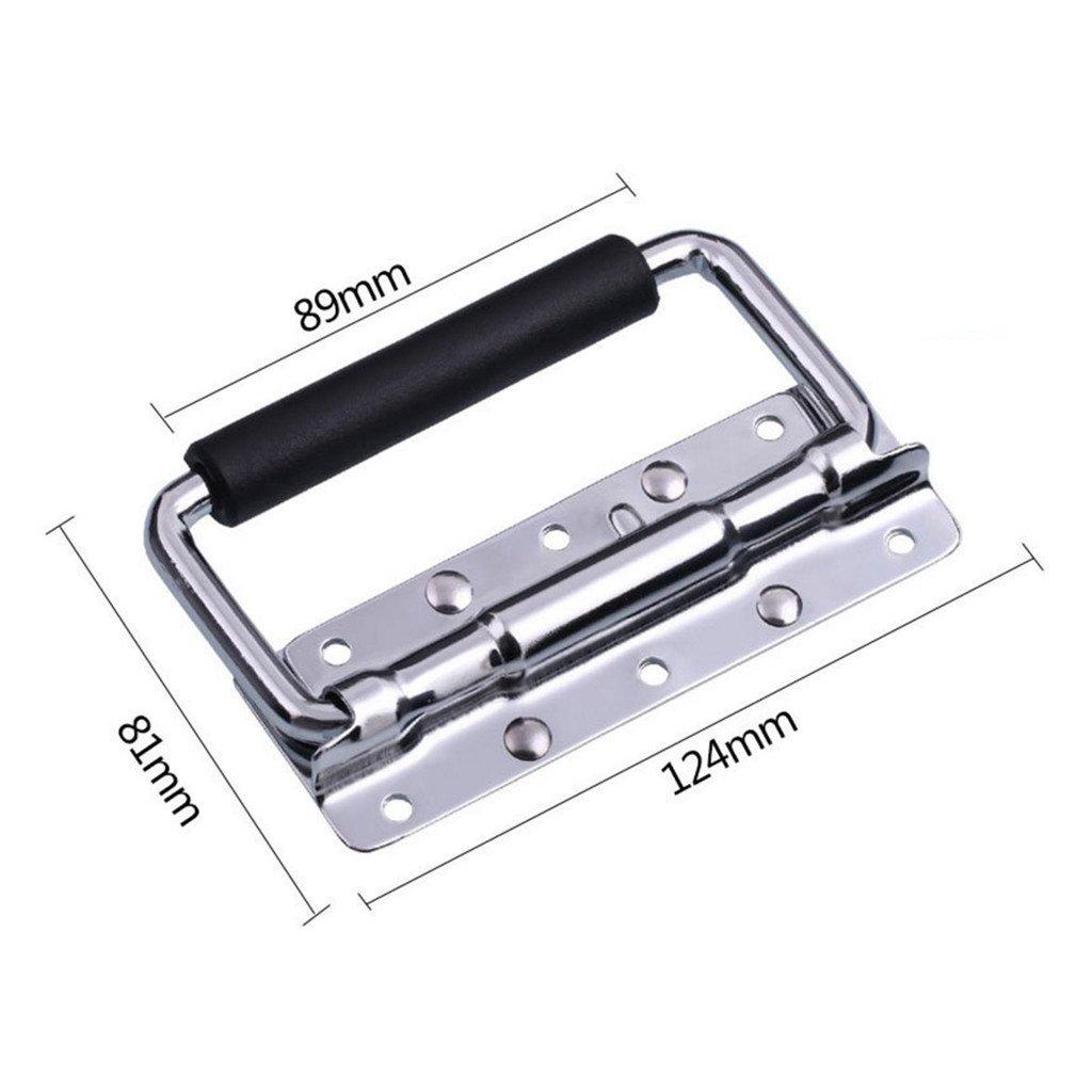 Sharplace Poign/ée De Chute /à Ressort Pour Flight Case//Haut-parleur 124mmx 81mm 8mm