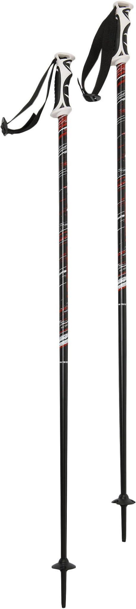 Tecno Pro Bastones de esquí para VECTOR – 1 par, unisex, schwarz / weiss (910), 135 cm: Amazon.es: Deportes y aire libre