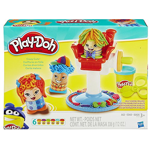 Play-Doh Crazy Cuts Comes with different themes