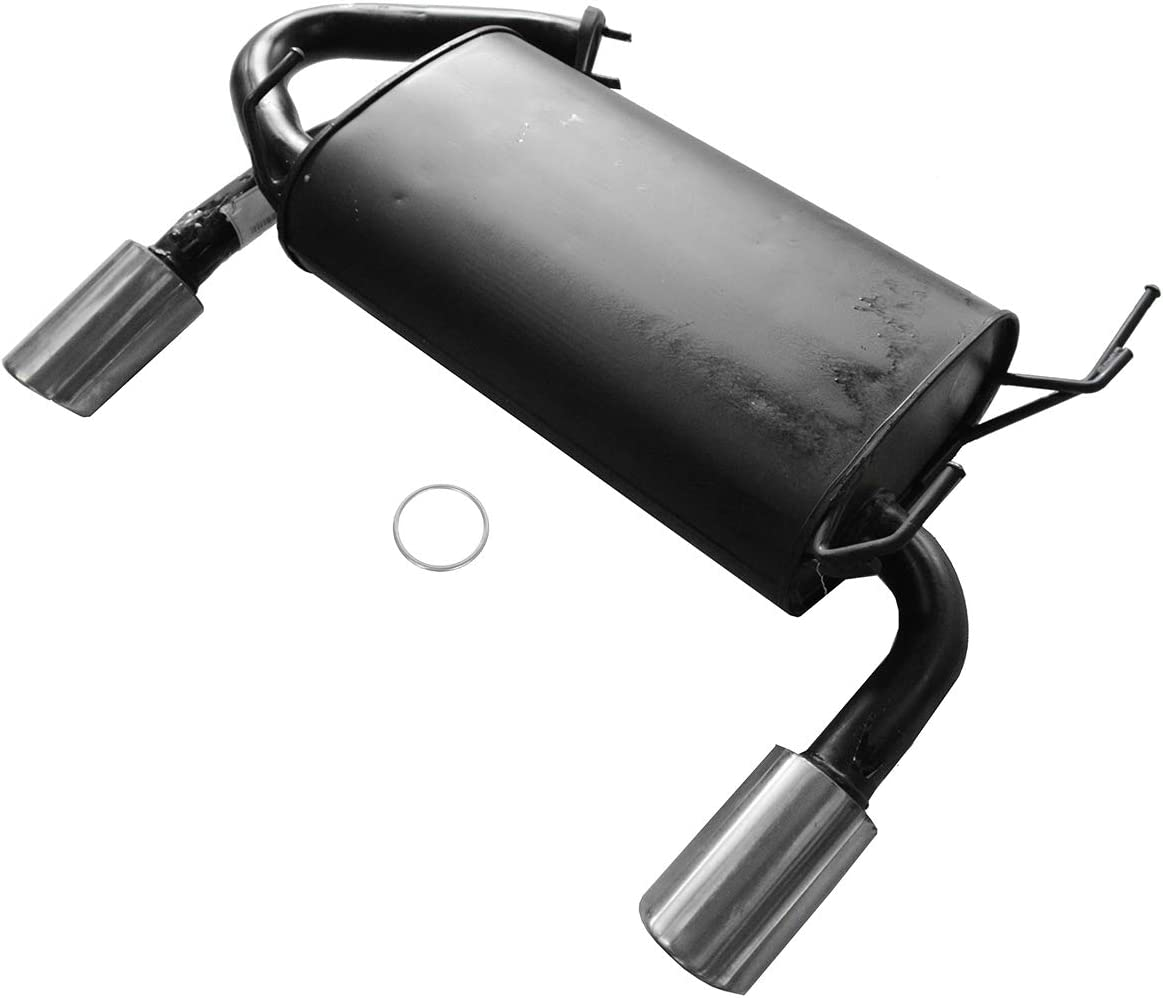 Rear Exhaust Muffler with Gasket for 05-08 Infiniti FX35