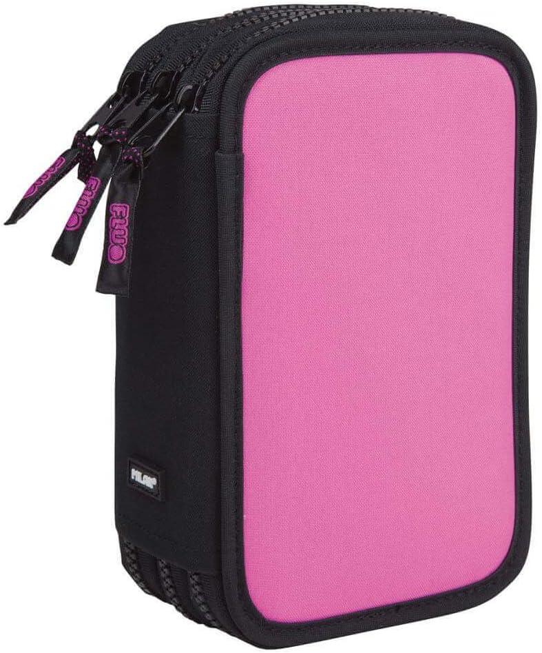 Estuche Milan Fluo Pink Triple 53 Piezas: Amazon.es: Oficina y papelería
