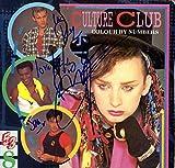 Culture Club X4 Autographed Colour By Numbers Album Cover AFTAL UACC RD COA