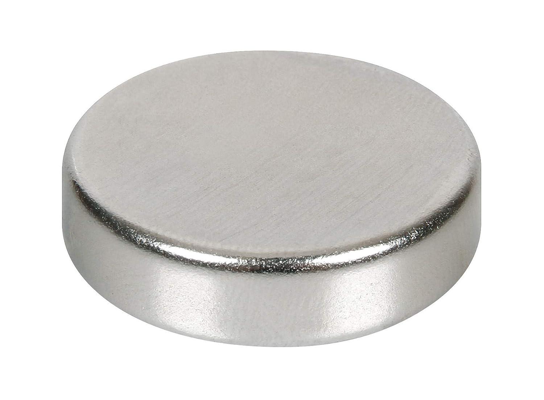 LAMPA 97722 Disco Magnetico al Neodimio, Set di 8
