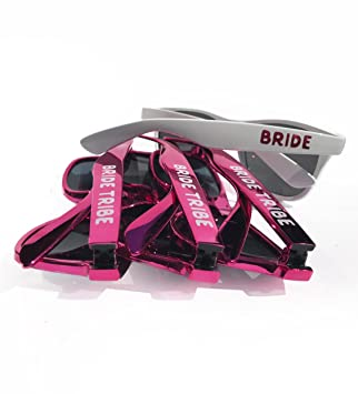 fb6c309d9bf Amazon.com  Bride Squad Sunglasses Pack