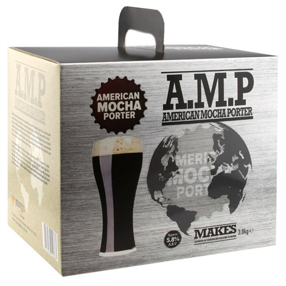 Home Brew Beer-Kit –  Young 's American Mokka Porter –  30 Pints Young' s