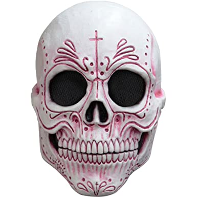 Ghoulish Masks Womens Mexican Catrina Dia de los Muertos Mask