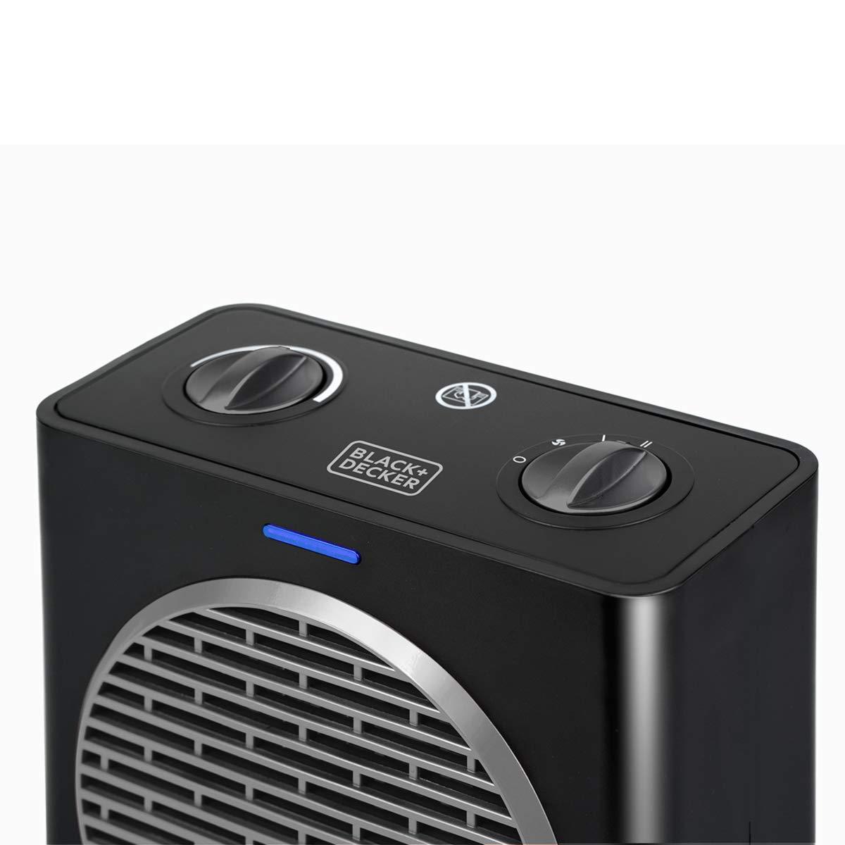 2000 W Plastic BLACK+DECKER BXSH2003E Termoventilatore