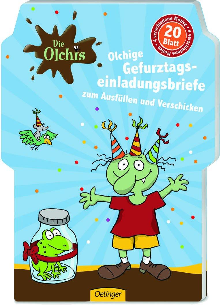 20 Einladungen DIE OLCHIS für Party und Kindergeburtstag