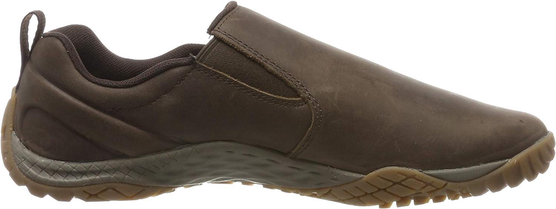 Merrell Trail Glove 4 Luna Slip on, Baskets Enfiler Homme Marron Espresso