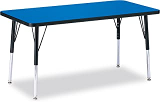 product image for Jonti-Craft Ridgeline Kydz Rectangular Activity Table (24 in. W x 48 in. D x 11 in. - 15 in. H. - Blue)