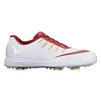 quality design cdef1 056cb Nike Lunar Control 4 College Golf Shoes 2016 USC Medium 13