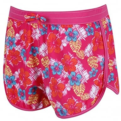 Regatta Great Outdoors Childrens/Girls Frilla Surf Shorts