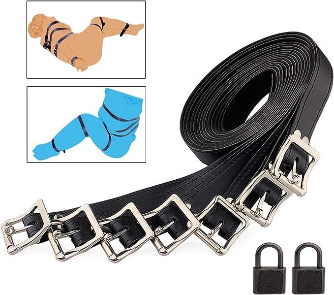 Amazon.com : Bondage Restraint Kit 10Pcs Bed Bondage Gear