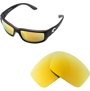 9ceba739b1 Walleva Replacement Lenses for Costa Del Mar Fantail Sunglasses - Multiple Options  Available