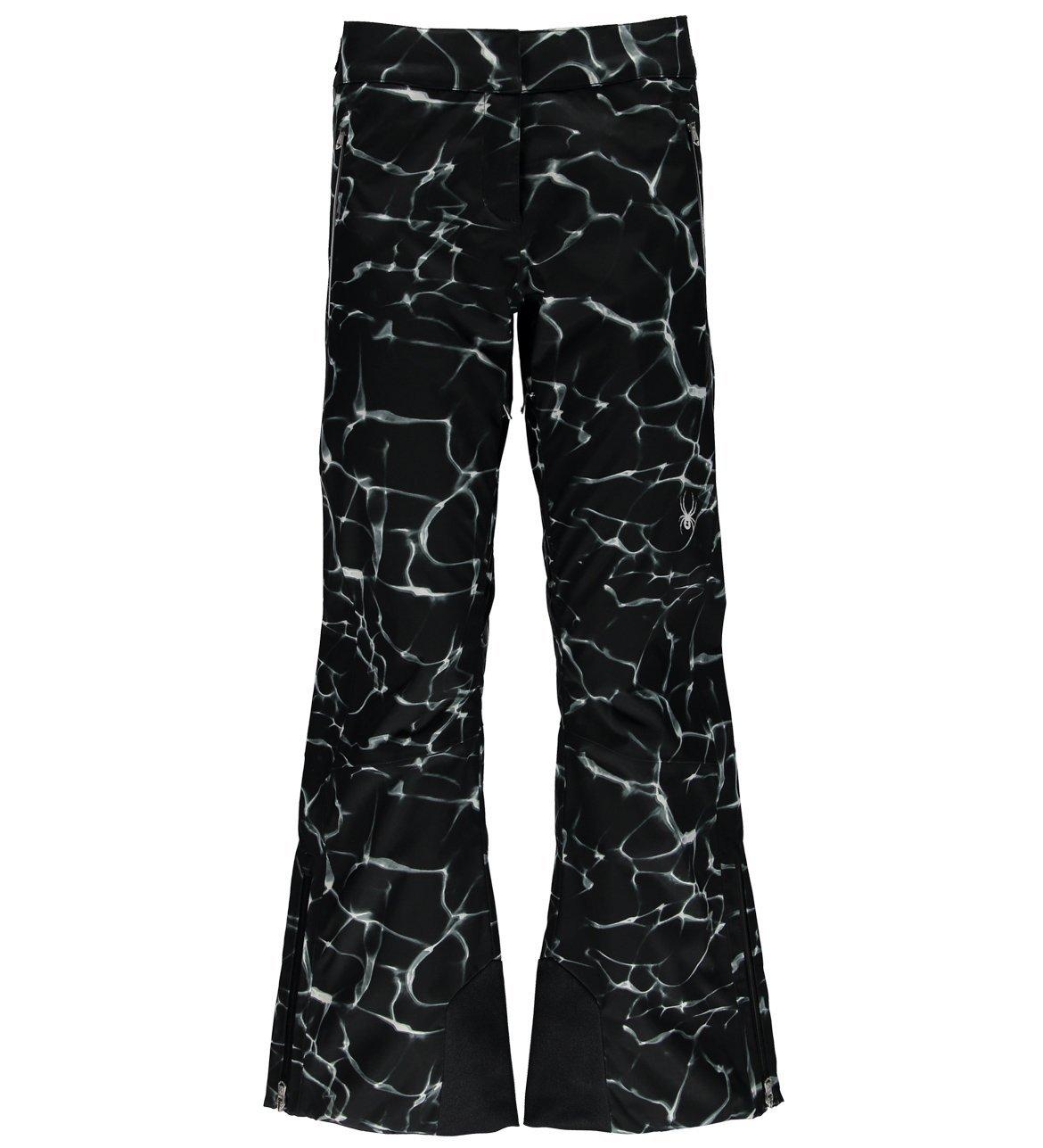 Waves Black Print 2Small Spyder Traveler Pant