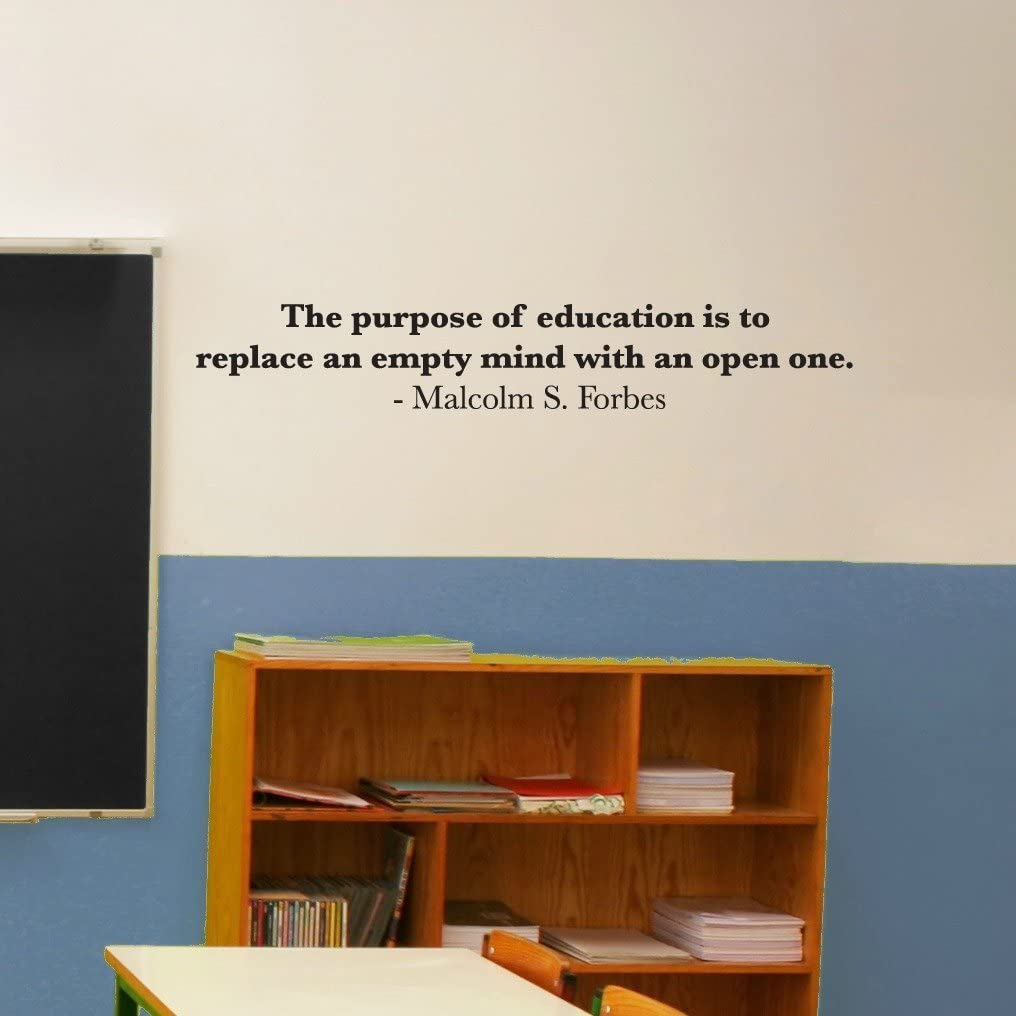 com katazoom educational wall quotes removable vinyl decal