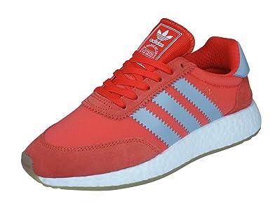 sale retailer e67a5 50e24 adidas Women s I-5923 Iniki Runner Fitness Shoes, Green White, 4 (