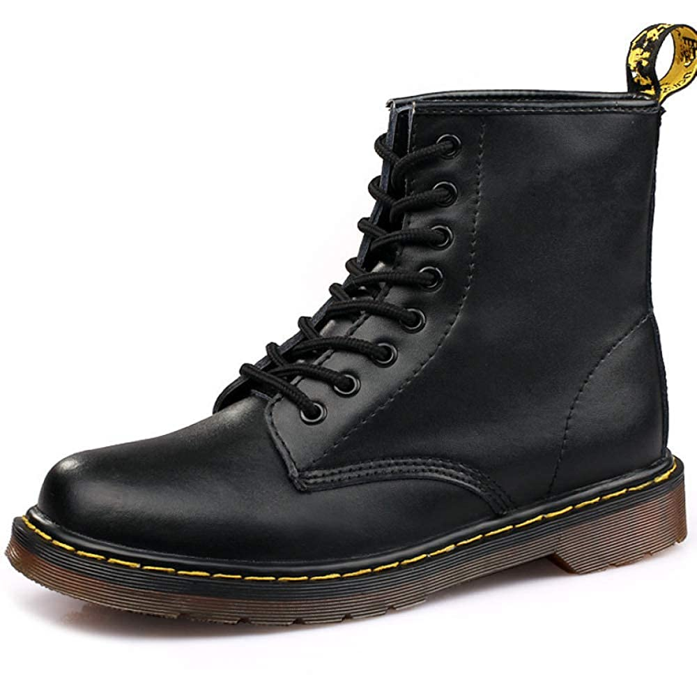 Winter Stiefel Herren Niedriger Fersenknöchel Schuhe Schnüren Sich Oben Lässig Martin Stiefel Größe  38-45  | Nicht so teuer