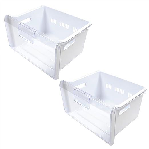 Spares2go completo medio cajón cesta para Samsung nevera ...